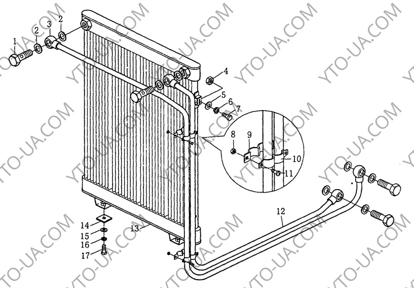 Радиатор масляный и проводной СМТ-80, СМТ-90
